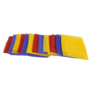"""12 juggling scarves, 26"""""""