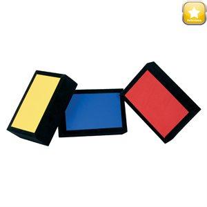 3 velvet bricks
