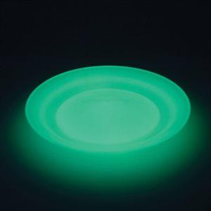 Phosphorescent spinning plate