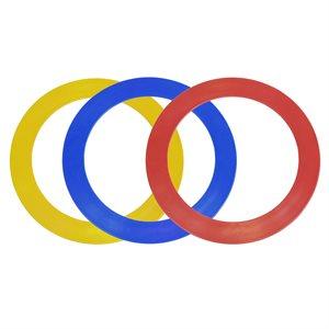 3 juggling rings, 32 cm