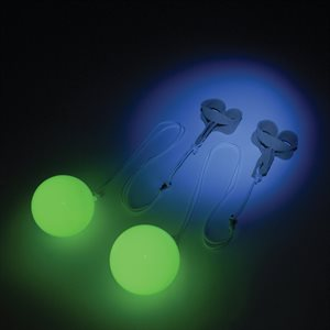 Pair of phosphorescent pois