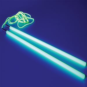 Energy phosphorescent diabolo handsticks