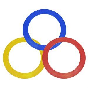 3 juggling rings, 24 cm
