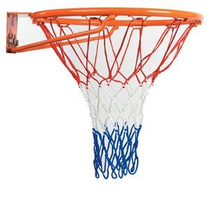 Nylon basketball net tricolor