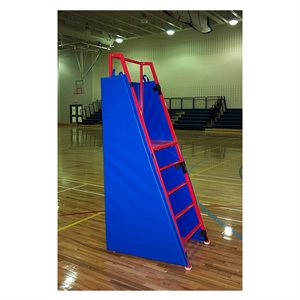 Safety pads for referee stand