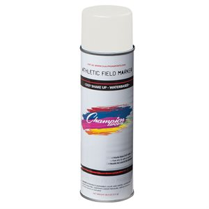 Can of spray paint, white