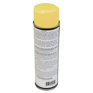 Can of spray paint, yellow