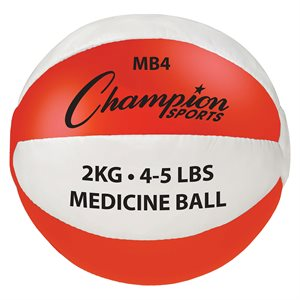 Synthetic leather medicine ball