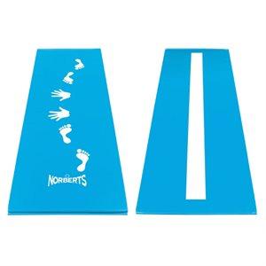 Cartwheel and beam mat 2'x6'