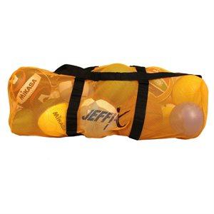 Mesh duffle bag w / shoudler strap
