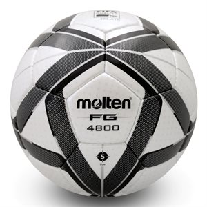Molten elite soccerball, black / white, #5
