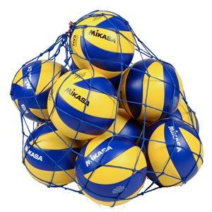 Square mesh bag, 12 balls