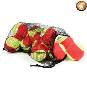 12 oversized mini-tennis balls
