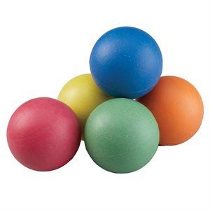 """6 sponge rubber balls, 2,5"""""""