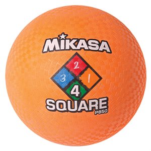 Four Square playground ball, orange