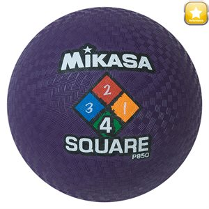 Four Square playground ball, purple