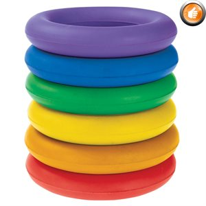 6 rubber deck rings