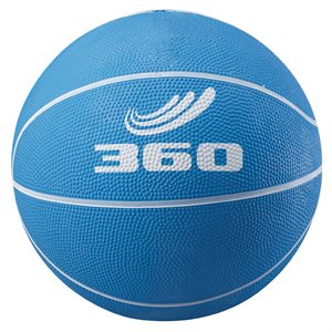 Rubber junior basketball, blue