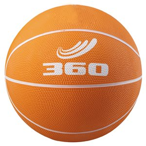 Rubber junior basketball, orange