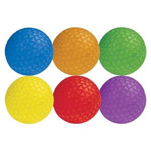 6 Easy Grip textured balls
