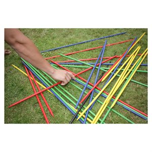 Giant pick up sticks game