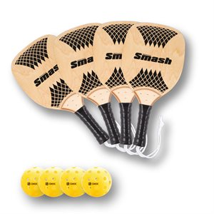4 players Pickleball set