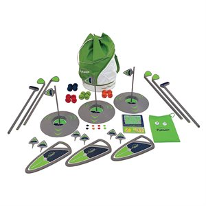 3-hole golf set, high school