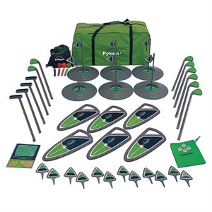 6-hole golf set, high school