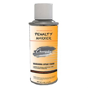 Penalty marker spray