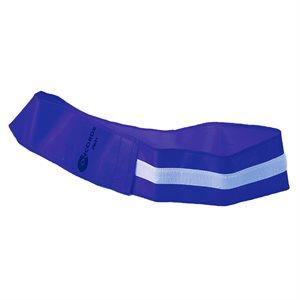 Velcro identification belt, blue