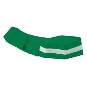 Velcro identification belt, green