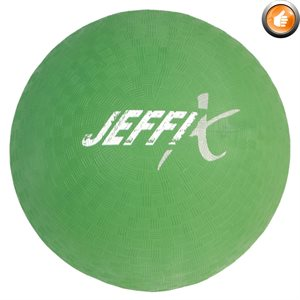 Playground rubber ball, green