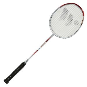 Badminton racquet, graphite shaft
