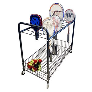 Mobile raquet cart