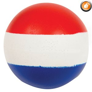 Foam and rubber bouncy ball