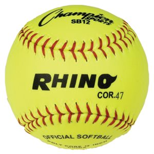 COR.47 softball, yellow