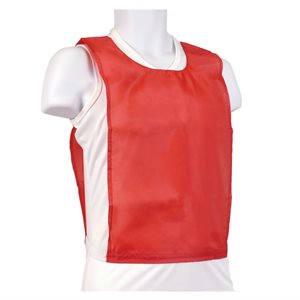 Nylon pinnie, red