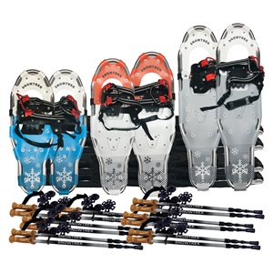 Snowshoes kit for high school