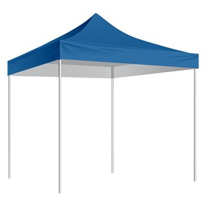 Folding Shelter with slip-over bag 10'x10', marine