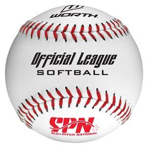12 softballs, cork core, .44 COR