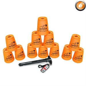 12 Speed Stacks cups, orange