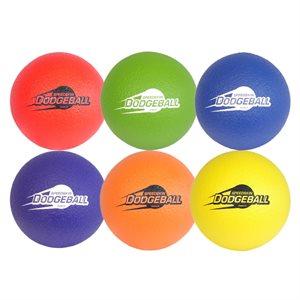 6 Speedskin foam balls