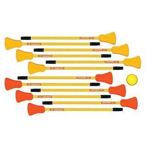 "12 broomball sticks 36"""