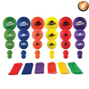 Set of SpeedSkin foam balls