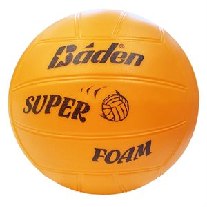 Super soft foamed PVC volleyball, orange