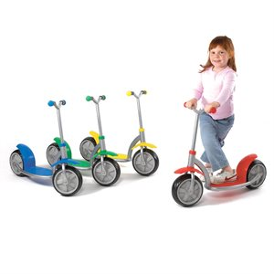 Scooter for children, red