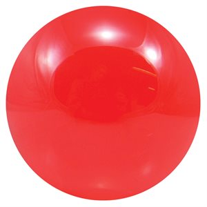 Contact acrylic ball, 100 mm, red