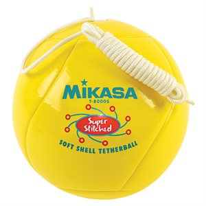 Tetherball, cushioned cover
