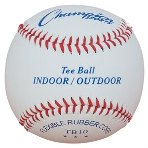 12 indoor / outdoor soft baseballs