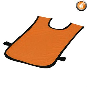 Polyester pinnie, Ages 2-5, orange